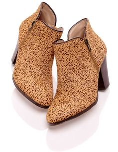 Cute printed booties from Sole Society!