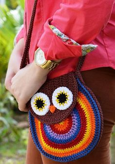 Crochet gufo