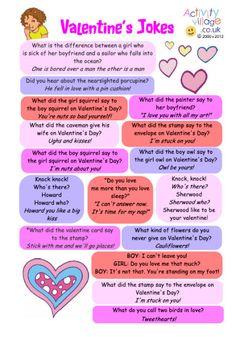valentine joke cards