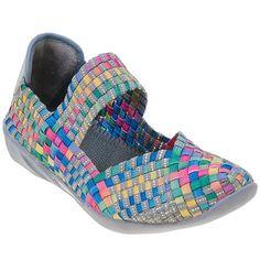 Bernie Mev Cuddly Multi Woven Memory Foam Women s Shoes BNIB | eBay