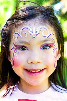 Children Face Painting Angels