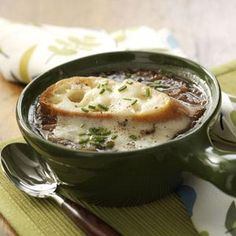 French Onion Soup Recipe from Taste of Home