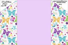 Fazendo a Minha Festa Infantil: Convites Prontos para Meninas com Envelopes!