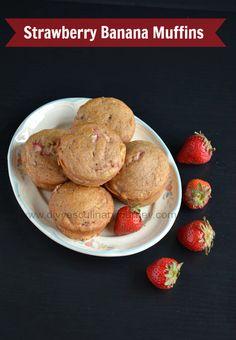 Strawberry Banana Muffin recipe!!!!