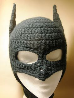 Crochet Batman Mask