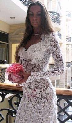 Ah, this boda ... Vestidos de punto. Ideas. Hable con LiveInternet - Servicio Rusos Diarios Online