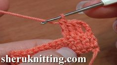 CROCHET FUNDAMENTALS Tutorial 7 How to Treble Crochet. http://sheruknitting.com/videos-about-knitting/crochet-for-beginners/item/180-crochet-fundamentals.html In this tutorial for beginners you will learn how to treble or triple crochet or to make a treble crochet stitch .