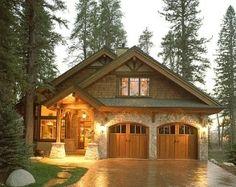 LOVE the garage doors!