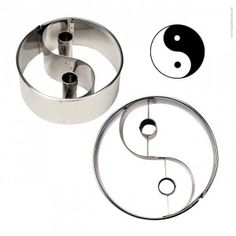 """Cookie/Pastry Cutters """"Yin Yang"""""""