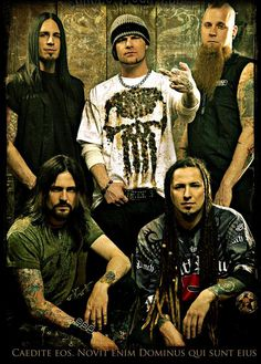 Five Finger Death Punch {would LOVE to see these guys real soon! I know they are going to be on tour during the summer}