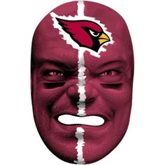 Franklin Sports 6991F11 NFL Arizona Cardinals Fan Face Mask