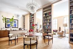 Steven Harris and Lucien Rees Roberts Craft Their Dream New York Apartment