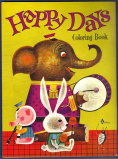 Happy Days Coloring Book, 1964 Waldman
