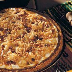 Coconut Cream Caramel pie