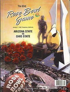 1997 Rose Bowl Program