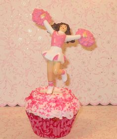 Cheerleader Cake Figurine. $2.50, via Etsy. 14