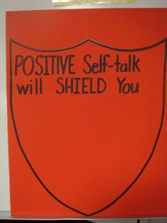 Positive Self Talk!  www.projectcornerstone.org  #bullying