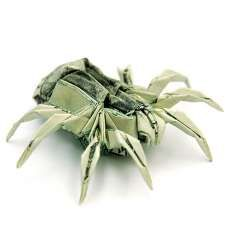 Origami Currency Creations #origami #paperart trendhunter.com
