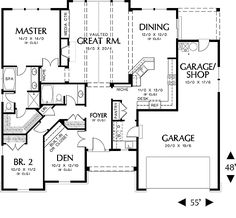 Homes House Plans On Pinterest House Plans Floor