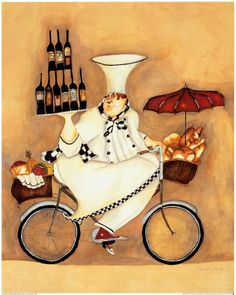 Chef Art, Fat Chef Art, Chefs Posters and Prints###