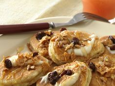 nutty whole-grain silver dollar pancakes...from betty crocker whole grains cookbook