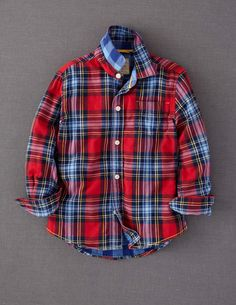 Double Cloth Shirt is perfect for my little dude...provided he gets over his boycott of collar shirts! #bodenxmaswishlist