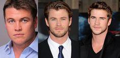 Luke, Chris, and Liam Hemsworth