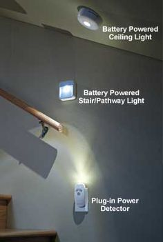When the power goes out, this Power Outage System gives you 40 hours of light. $60 www.solutions.com