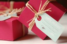 Tutorial to make these gift boxes from file folders