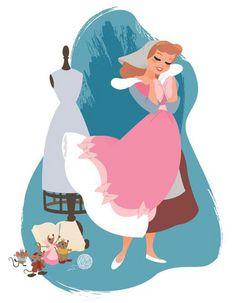 Steve Thompson's Cinderella Pink by Disneysexual, via Flickr