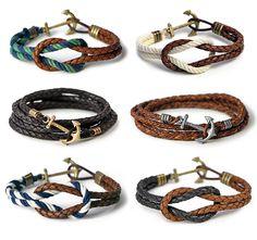 anchor bracelets  --CaLa--
