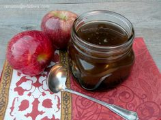 Apple Cider Syrup - breakfast for the holidays