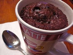 Chocolate Scratch Cake for ONE in a Mug