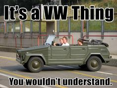 "It""s a VW Thing!"