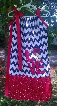 LOVE USC Gamecock Pillowcase Dress Free Shipping by GingerDail, $30.00
