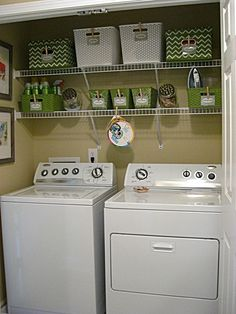 I need to do this to my laundry room!