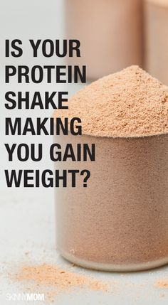 Could  your protein shake be adding some unwanted pounds? Find out here.