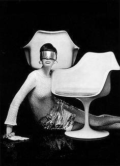 Armchair by Eero Saarinen = Classic #Midcenturymodern design.
