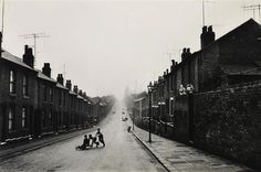 In the street, Burngreave, Sheffield, 1961    by     Roger Mayne