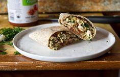 vegan breakfast burritos   to try freezing some?