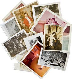 "Preserving family photos into ""shoeboxes"""