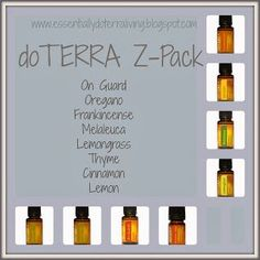 doTERRA's Z-Pack ~ Have you ever had a Sinus Infections or an Upper Respiratory Infection? Did you go to the doctor and he/she prescribed an antibiotic called a Z-Pack?