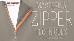 Learn To Master Zippering Techniques In This Free Online Sewing Class