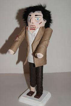 Custom Zombie Nutcracker from Really Cool Nutcrackers