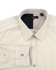 Ted Baker LOUIS - Geometric pattern shirt
