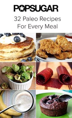 Need some inspiration in the kitchen? Well, here are 32 Paleo inspired recipes, great for everyone and sure to keep you moving!