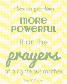 Prayers of a Mother