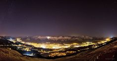 """""""Stars Above Innsbruck,"""" first prize in the Against the Lights 2012 Earth & Sky Photo Contest. Photographer Norbert Span."""