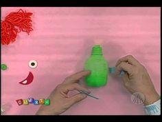 Monstro de garrafa pet | Professor Sassá