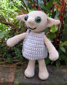 PDF Dobby the House Elf Crochet Pattern. I would love a little Dobby.